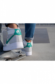 Кроссовки AF1 High - Grey / Green
