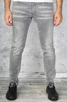 "Мужские джинсы Dsquared2 ""Paint Splatter"" - Grey"