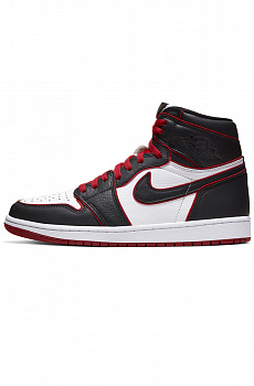 Кроссовки AJ1 Retro High - Black / Gym Red / White