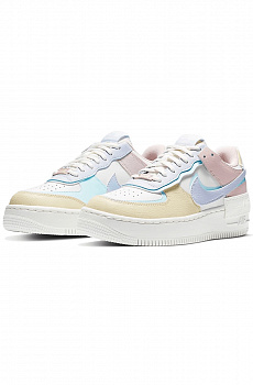 Кроссовки AF1 Shadow - White / Blue / Pink